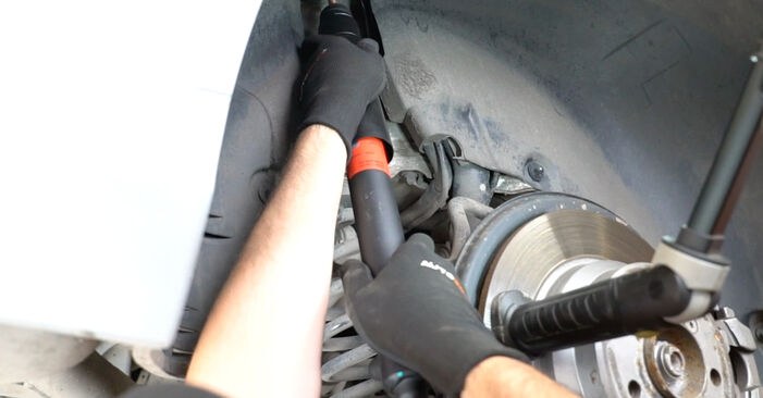 How hard is it to do yourself: Shock Absorber replacement on Mercedes W211 E 320 CDI 3.0 (211.022) 2008 - download illustrated guide