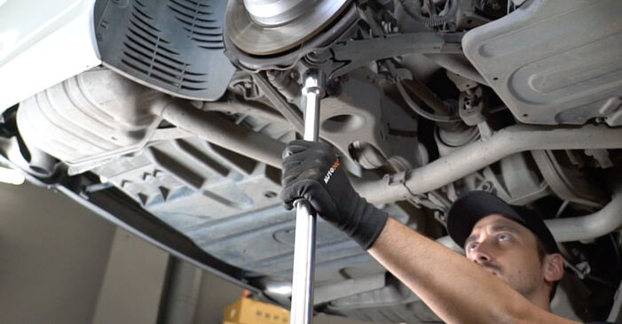 Changing of Shock Absorber on Mercedes W211 2002 won't be an issue if you follow this illustrated step-by-step guide