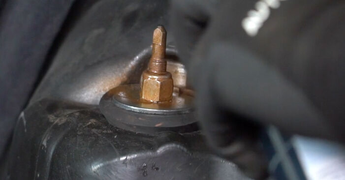 How to remove MERCEDES-BENZ E-CLASS E 280 CDI 3.0 (211.020) 2006 Shock Absorber - online easy-to-follow instructions