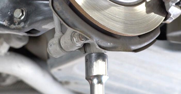 Ar sudėtinga pasidaryti pačiam: Mercedes W211 E 320 CDI 3.0 (211.022) 2008 Spyruoklės keitimas - atsisiųskite iliustruotą instrukciją