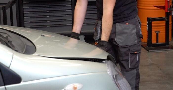 Austauschen Anleitung Bremsbeläge am Toyota Yaris p1 2002 1.0 (SCP10_) selbst