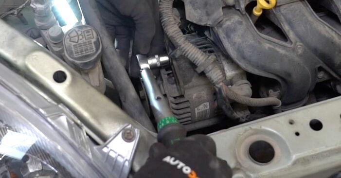 Tidsforbruk: Bytt Kileribberem på Toyota Yaris p1 2000 – informativ PDF-veiledning