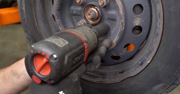 Austauschen Anleitung Hauptscheinwerfer am Toyota Yaris p1 2002 1.0 (SCP10_) selbst