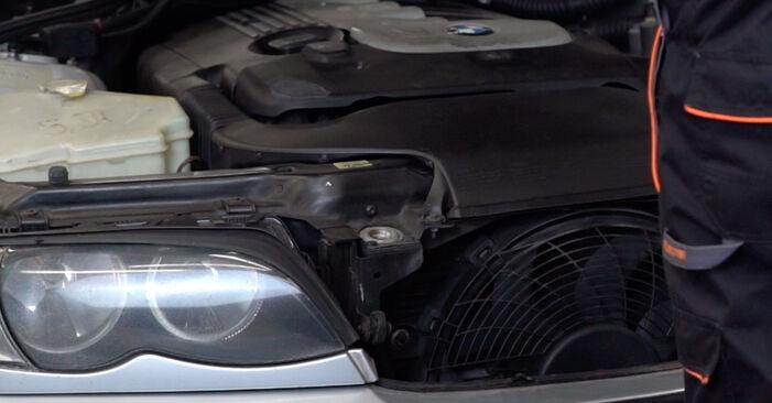 Wie Bremsscheiben BMW 3 Touring (E46) 320d 2.0 1998 tauschen - Kostenlose PDF- und Videoanleitungen