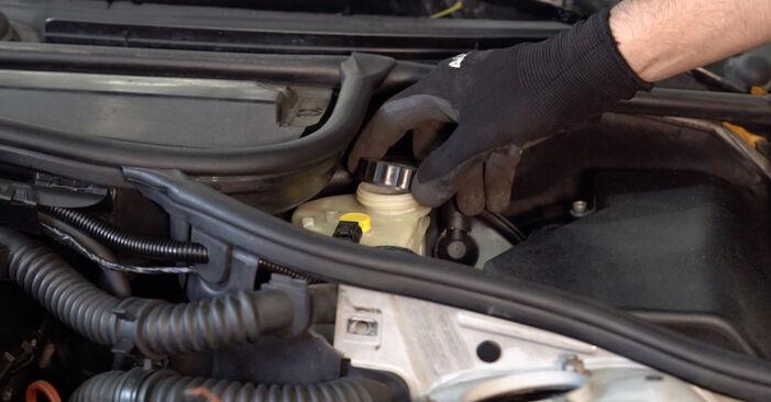 Bremsscheiben am BMW 3 Touring (E46) 330i 3.0 2003 wechseln – Laden Sie sich PDF-Handbücher und Videoanleitungen herunter