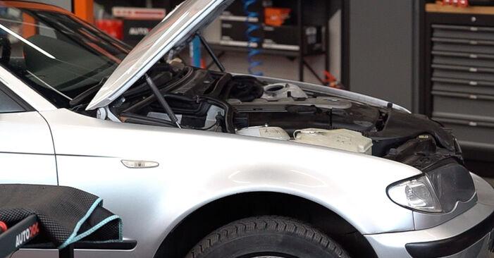 Wie Domlager BMW 3 Touring (E46) 320d 2.0 1998 tauschen - Kostenlose PDF- und Videoanleitungen