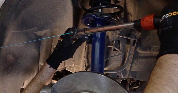 Domlager am BMW 3 Touring (E46) 330i 3.0 2003 wechseln – Laden Sie sich PDF-Handbücher und Videoanleitungen herunter