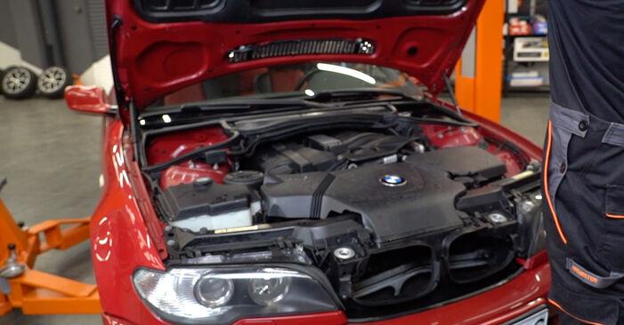 Wie Bremsbeläge BMW e46 Cabrio 330Ci 3.0 1998 tauschen - Kostenlose PDF- und Videoanleitungen