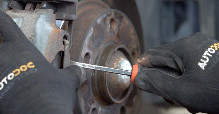 BMW 3 SERIES 320Ci 2.2 Bremsbeläge ausbauen: Anweisungen und Video-Tutorials online