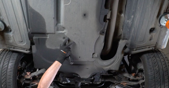 Replacing Shock Absorber on Mercedes W211 2004 E 220 CDI 2.2 (211.006) by yourself