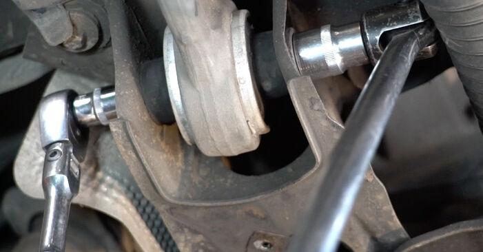Стъпка по стъпка препоруки за самостоятелна смяна на Mercedes W211 2007 E 280 CDI 3.0 (211.020) Пружинно окачване
