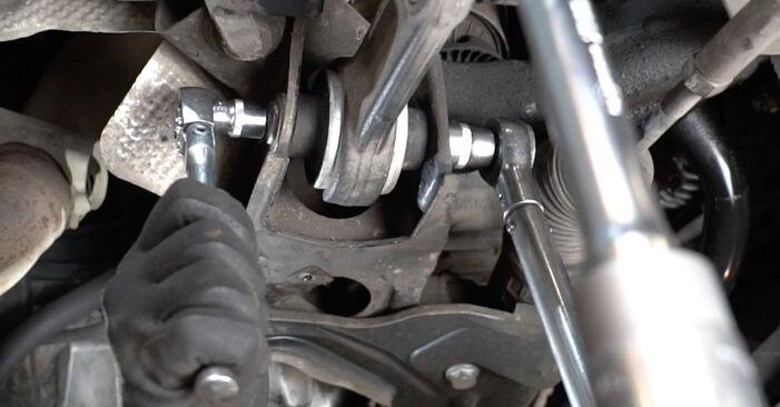 Как се сменя Пружинно окачване на Mercedes W211 2002 - безплатни PDF и видео уроци