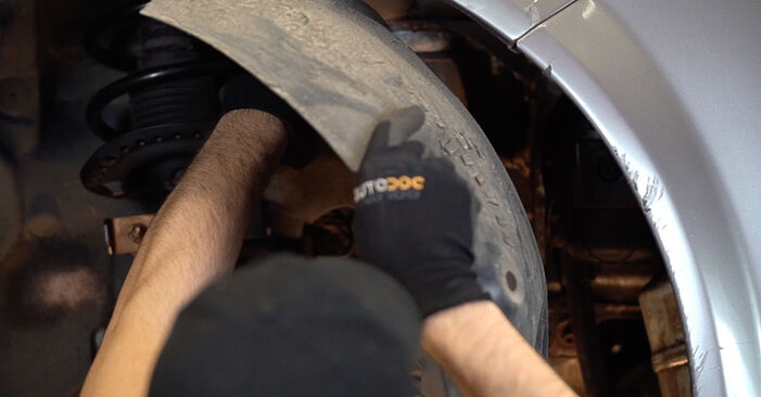 Changing of Poly V-Belt on Renault Scenic 2 2003 won't be an issue if you follow this illustrated step-by-step guide