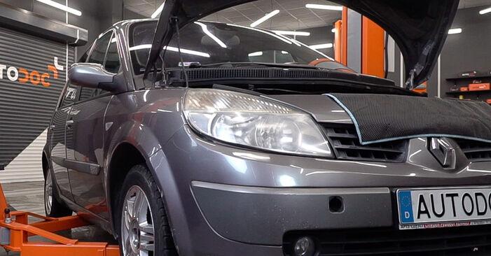 Ako vymeniť Rameno Zavesenia Kolies na Renault Scenic 2 2003 – bezplatné PDF a video návody.