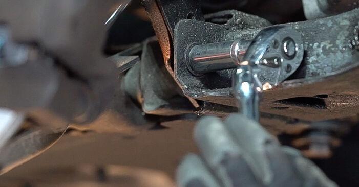 Podrobné odporúčania pre svojpomocnú výmenu Renault Scenic 2 2008 2.0 Rameno Zavesenia Kolies