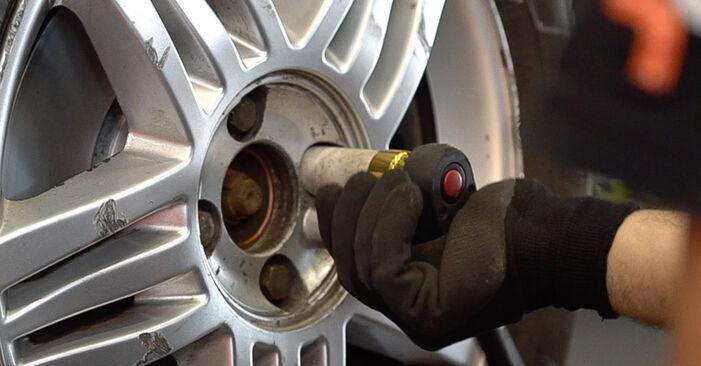 Renault Scenic 2 1.5 dCi 2005 Rameno Zavesenia Kolies výmena: bezplatné návody z našej dielne