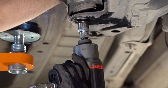208 I Hatchback (CA_, CC_) 1.0 2013 Control Arm DIY replacement workshop manual