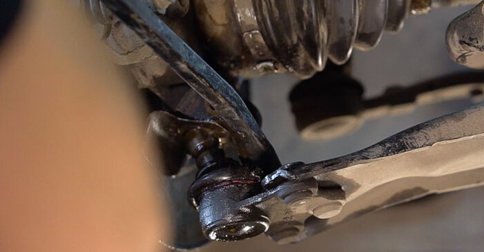 Step-by-step recommendations for DIY replacement Peugeot 208 1 2015 1.0 Control Arm