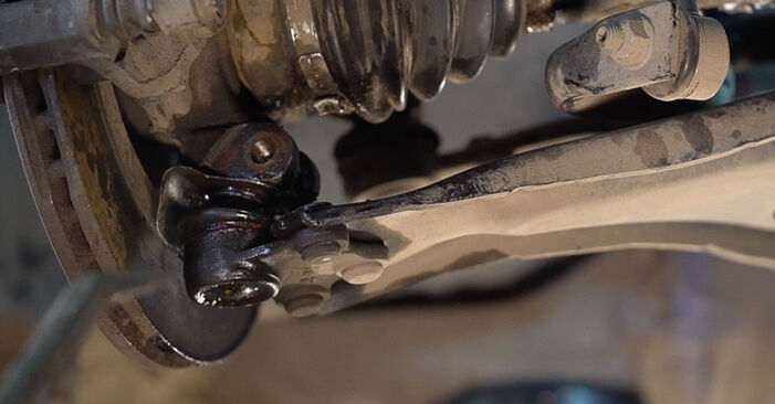 Changing of Control Arm on Peugeot 208 1 2020 won't be an issue if you follow this illustrated step-by-step guide
