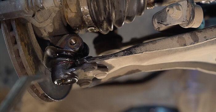 Querlenker Ihres Peugeot 208 1 1.6 2020 selbst Wechsel - Gratis Tutorial