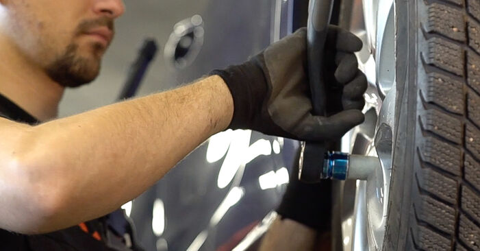 Peugeot 208 1 1.2 2014 Bremsscheiben wechseln: Gratis Reparaturanleitungen