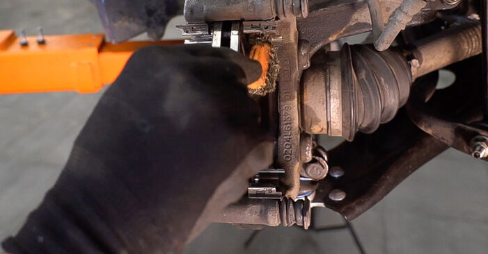 How to change Brake Pads on Peugeot 208 1 2012 - free PDF and video manuals