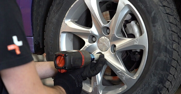 How hard is it to do yourself: Brake Pads replacement on Peugeot 208 1 1.4 VTi 2018 - download illustrated guide