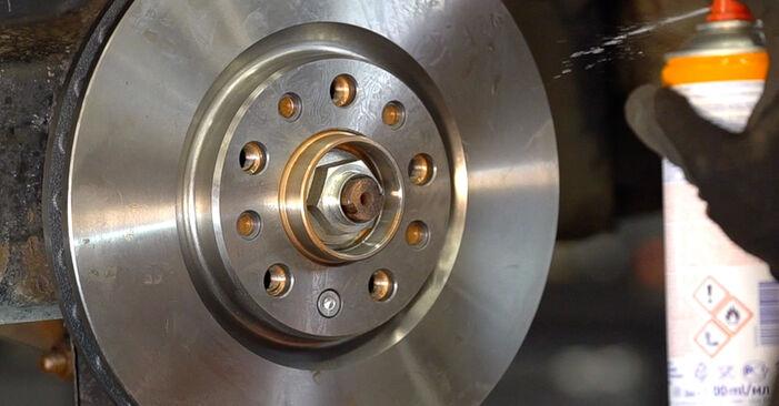 Πώς να αντικαταστήσετε Δισκόπλακα σε ALFA ROMEO 159 Sportwagon (939) 2010: κατεβάστε εγχειρίδια PDF και βίντεο οδηγιών