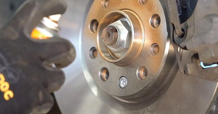 Πώς να αλλάξετε Δισκόπλακα σε Alfa Romeo 159 Sportwagon 2005 - δωρεάν εγχειρίδια PDF και βίντεο οδηγιών
