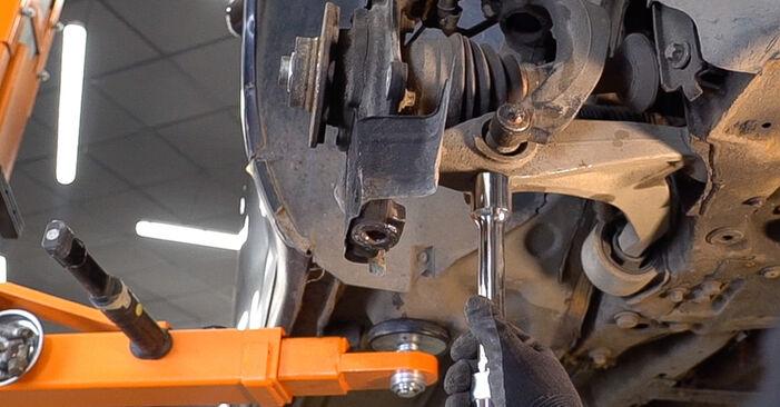 Wie ALFA ROMEO 159 2.4 JTDM (939.BXM1B) 2009 Radlager ausbauen - Einfach zu verstehende Anleitungen online