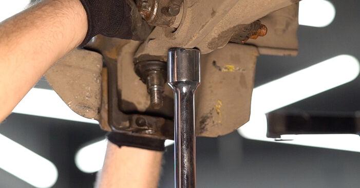 Πώς να αντικαταστήσετε Ρουλεμάν τροχών σε ALFA ROMEO 159 Sportwagon (939) 2010: κατεβάστε εγχειρίδια PDF και βίντεο οδηγιών