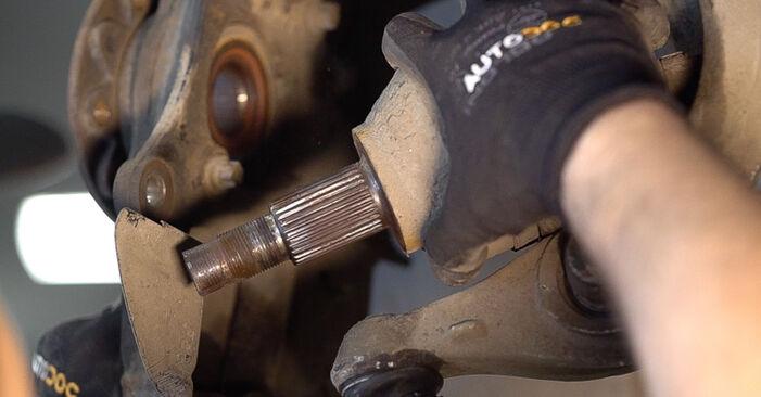 Radlager Ihres Alfa Romeo 159 Sportwagon 3.2 JTS Q4 2005 selbst Wechsel - Gratis Tutorial