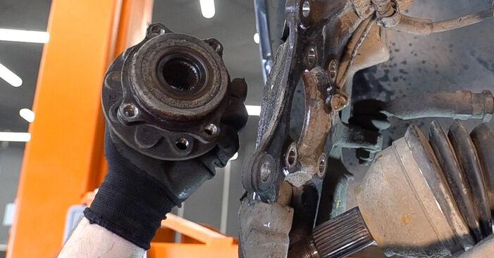 159 Sportwagon (939) 2.4 JTDM (939.BXM1B) 2008 Wheel Bearing DIY replacement workshop manual