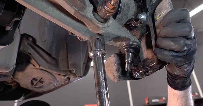 Wechseln Radlager am ALFA ROMEO 159 Sportwagon (939) 1.9 JTDM 8V 2008 selber