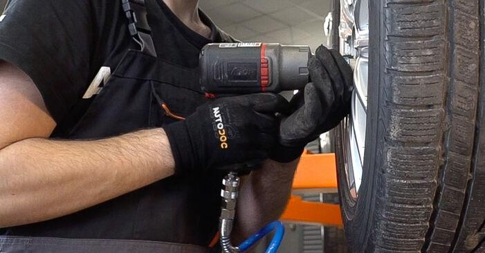 ALFA ROMEO 159 1.9 JTDM 16V Radlager ausbauen: Anweisungen und Video-Tutorials online