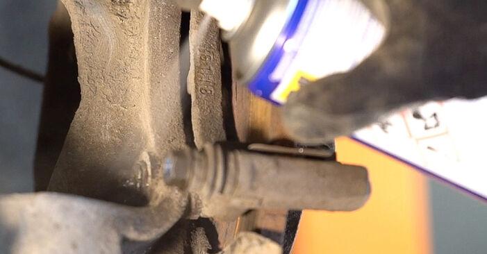 αλλαγη Ρουλεμάν τροχών ALFA ROMEO 159 3.2 JTS Q4: online οδηγοί και βίντεο tutorial
