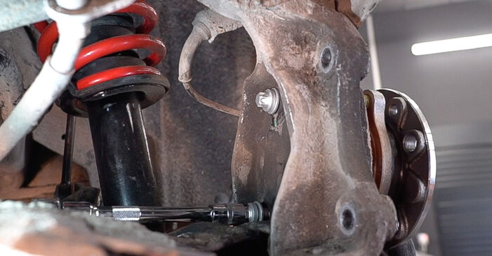 Mennyi ideig tart a csere: Kerékcsapágy Alfa Romeo 159 Sportwagon 2005 - tájékoztató PDF útmutató