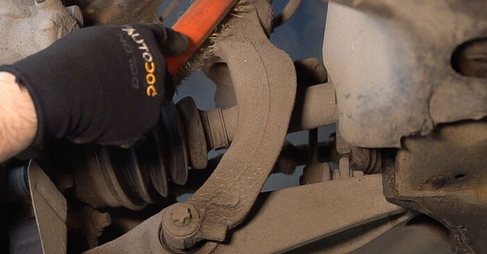 ALFA ROMEO 159 3.2 JTS Q4 Control Arm replacement: online guides and video tutorials