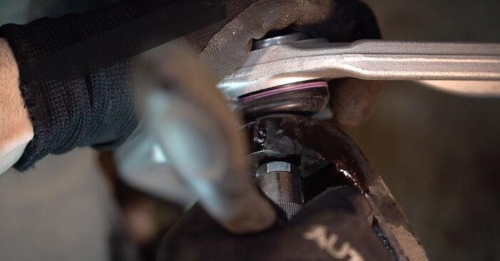 How to change Control Arm on Alfa Romeo 159 Sportwagon 2005 - free PDF and video manuals
