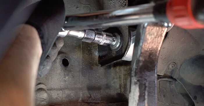 How to remove ALFA ROMEO 159 2.4 JTDM (939.BXM1B) 2009 Control Arm - online easy-to-follow instructions
