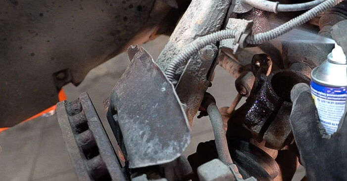 Changing of Control Arm on Alfa Romeo 159 Sportwagon 2005 won't be an issue if you follow this illustrated step-by-step guide