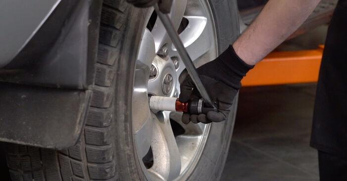 Como trocar Braço De Suspensão no Toyota Prado J120 2002 - manuais gratuitos em PDF e vídeo