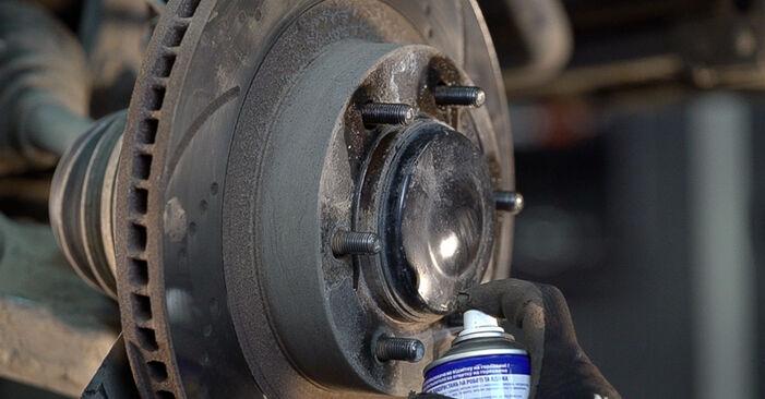 Bremsscheiben Toyota Prado J120 3.0 D 2004 wechseln: Kostenlose Reparaturhandbücher