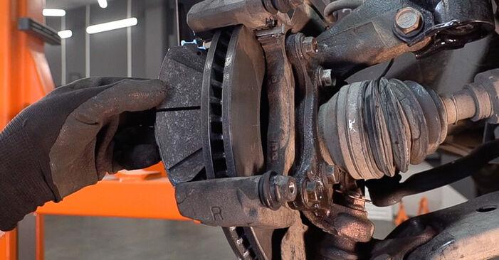 Toyota RAV4 III 2009 2.0 (ZSA35_) Fékbetét csináld magad csere - javaslatok lépésről lépésre