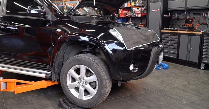 Svépomocná výměna Brzdové Destičky na TOYOTA RAV 4 III (ACA3_, ACE_, ALA3_, GSA3_, ZSA3_) 2.0 4WD (ZSA30_) 2008