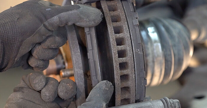 Replacing Brake Discs on Toyota RAV4 III 2006 2.2 D 4WD (ALA30_) by yourself