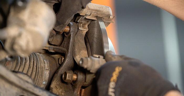 Toyota RAV4 III 2.0 4WD (ACA30_) 2007 Dischi Freno sostituzione: manuali dell'autofficina