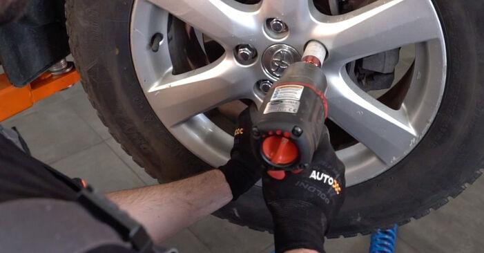 Substituição de TOYOTA RAV4 2.2 D 4WD (ALA30_) Ponteiras de Direcção: guias online e tutoriais em vídeo