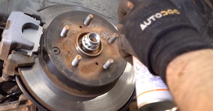 Como trocar Rolamento da Roda no Toyota RAV4 III 2005 - manuais gratuitos em PDF e vídeo