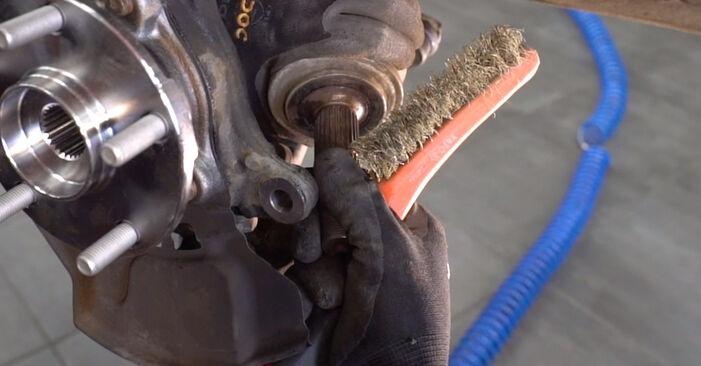 Substituindo Rolamento da Roda em Toyota RAV4 III 2006 2.2 D 4WD (ALA30_) por si mesmo